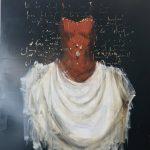 Suspended ghost, olio su tela, cm 120x100