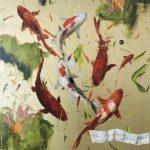 Mystic river, olio su tela, cm 100x80