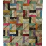 Orizzontali a tratti verticali, mista su tavola, cm 114x83