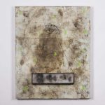 Le Ermetriche, mista su tavola, cm 81x65