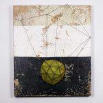 Le Ermetriche, mista su tavola, cm 88x74