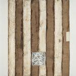 Le ermetiche, mista su tavola, cm 100x80x11