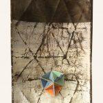 Le ermetriche, mista su tavola, cm 31x21x8