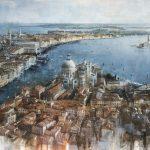 Venezia, olio su tela, cm 100x150