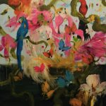 Roussau Suite, olio su tela, cm 180x160