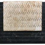 L'Accoppiata, mista su tavola, cm 120x137