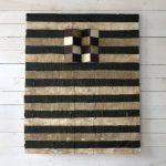 Quadrangolari, mista su tavola, cm 101x82