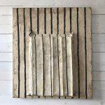 L'Accoppiata, mista su tavola, cm 94x82