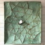Le Ermetriche, mista su tavola, cm 100x83
