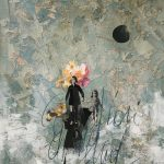 Come fiori dalla luna mare, mista su tela, cm 120x100
