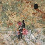Come fiori dalla luna terra, mista su tela, cm 120x100