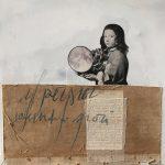 Lyra, mista su carta, cm 50x50