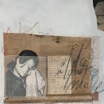 Andromeda, mista su carta, cm 50x50