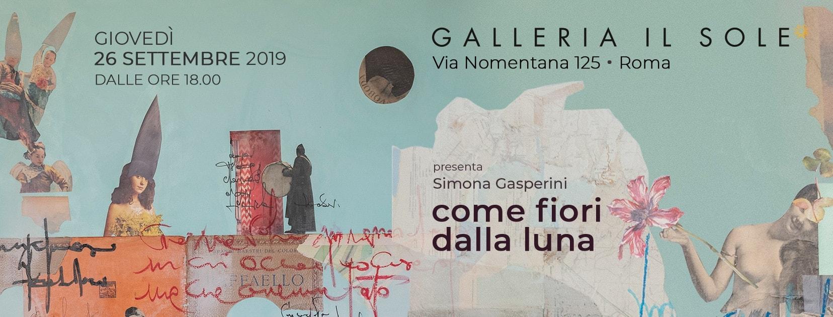 Simona Gasperini - come fiori dalla luna