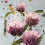 j. Garden, olio su tela, cm 120x100