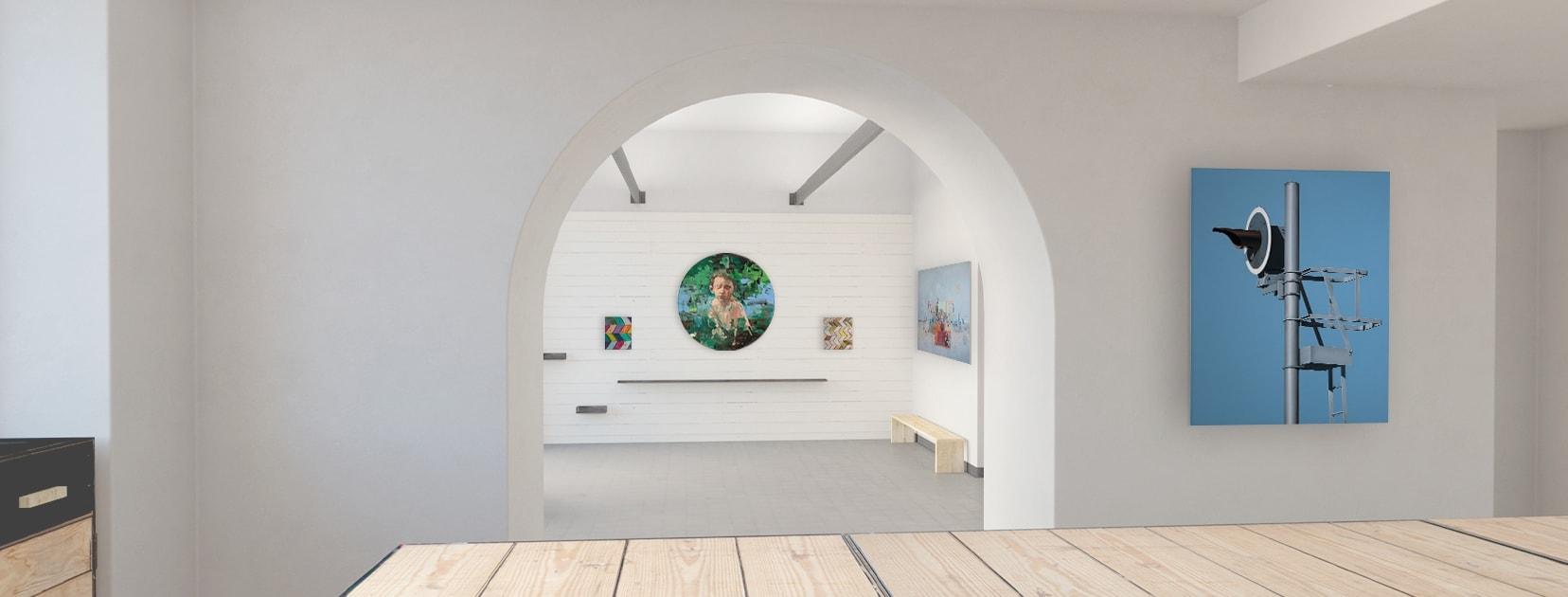 Slide galleria virtuale