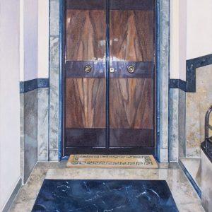 Pianerottolo, olio tutela, cm 70x50