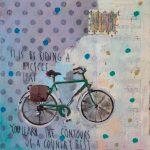 By Riding, mista su tavola, cm 30x30