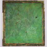 D'Altro Canto, mista su tavola, cm 103,5x95,5