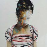 Ayla, mista su tela, cm 170x125