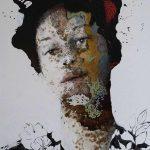 Il fascino della convinzione, mista su tela, cm 140x100