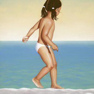 Mediterranean Sundance, olio su tela, cm 80x60